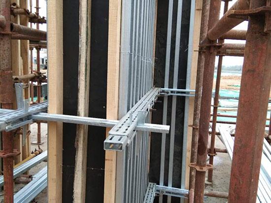 新型建筑模板支撑架